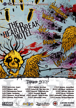 The Heartbreak Motel - Tourflyer