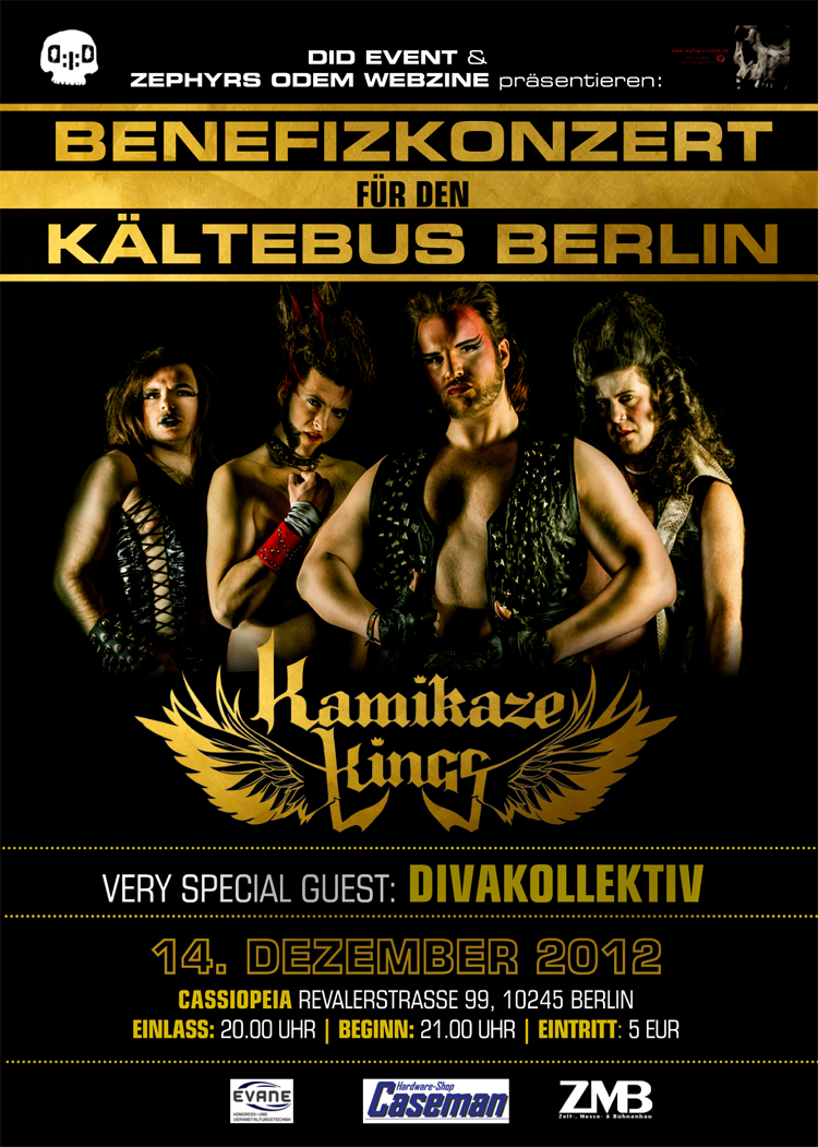 KAMIKAZE KINGS | Benefizkonzert
