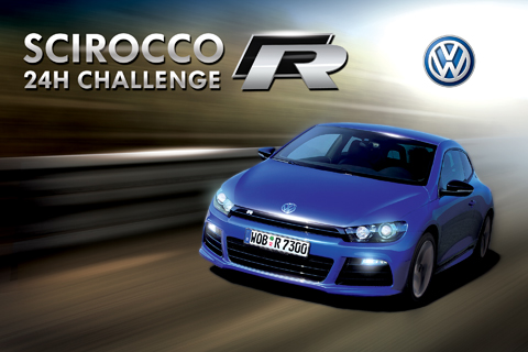 VW Scirocco R 24h Challenge iPhone Game