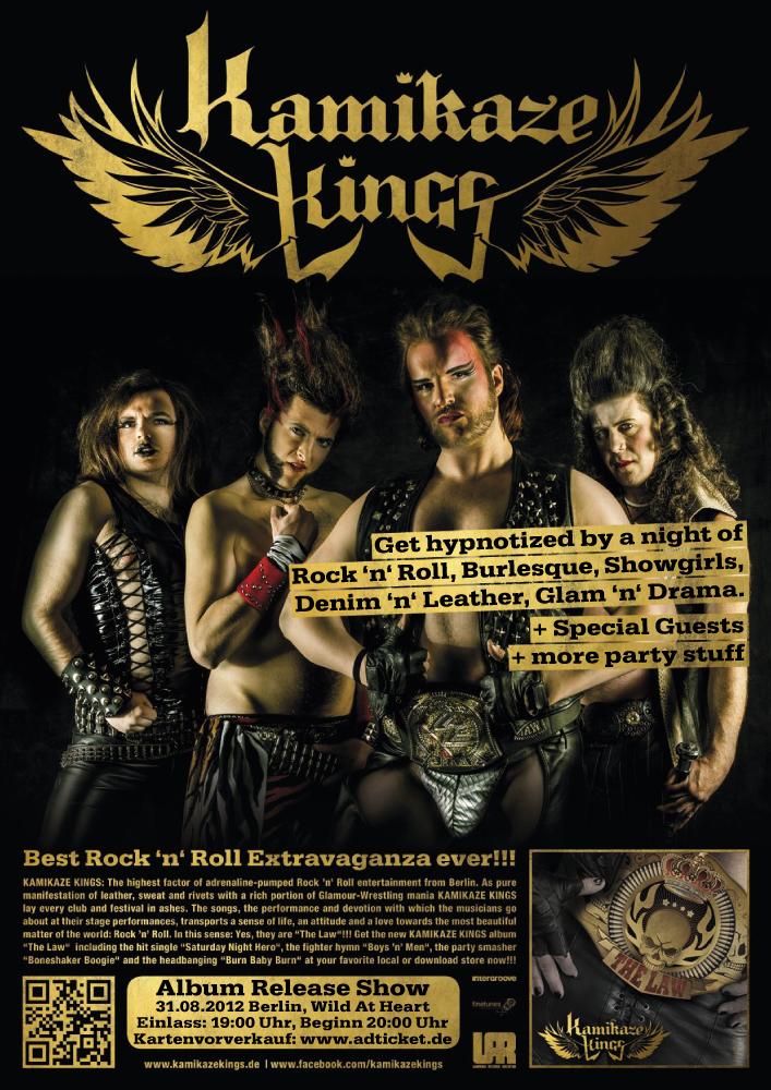 KAMIKAZE KINGS - Release Show